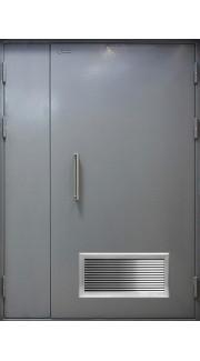 Дверь с вентилационной решеткой