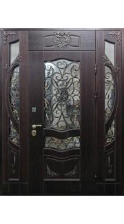 """Дверь с семейным гербом """"Д"""""""