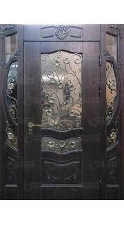 """Дверь с семейным гербом """"С"""""""